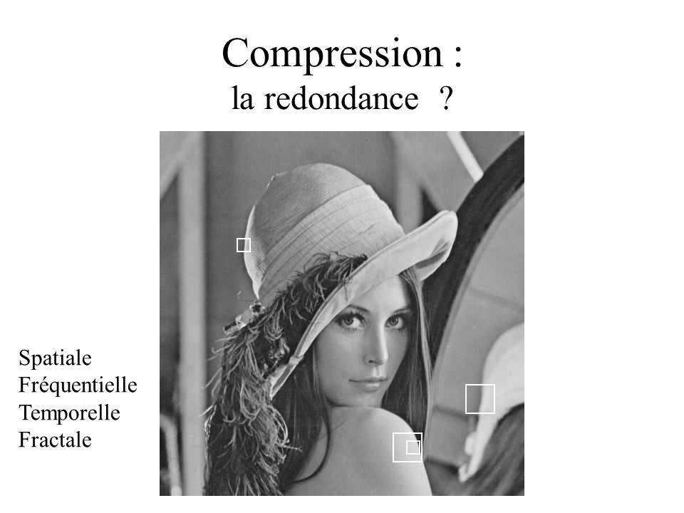 Compression : la redondance