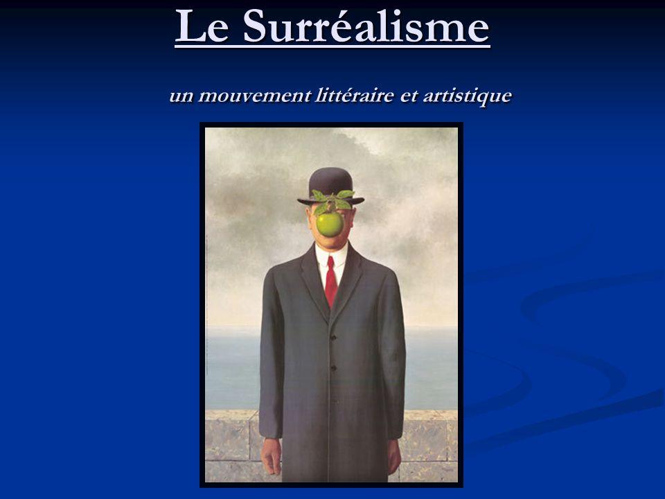 Le Surréalisme un mouvement littéraire et artistique