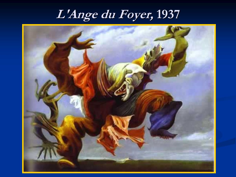 L Ange du Foyer, 1937