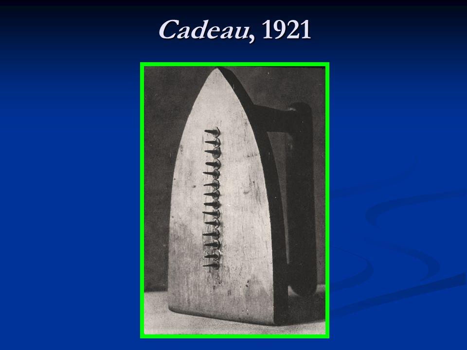 Cadeau, 1921