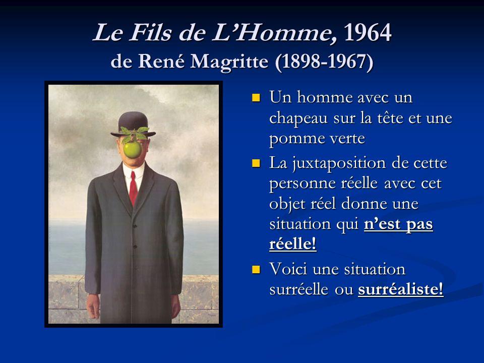 Le Fils de L'Homme, 1964 de René Magritte (1898-1967)