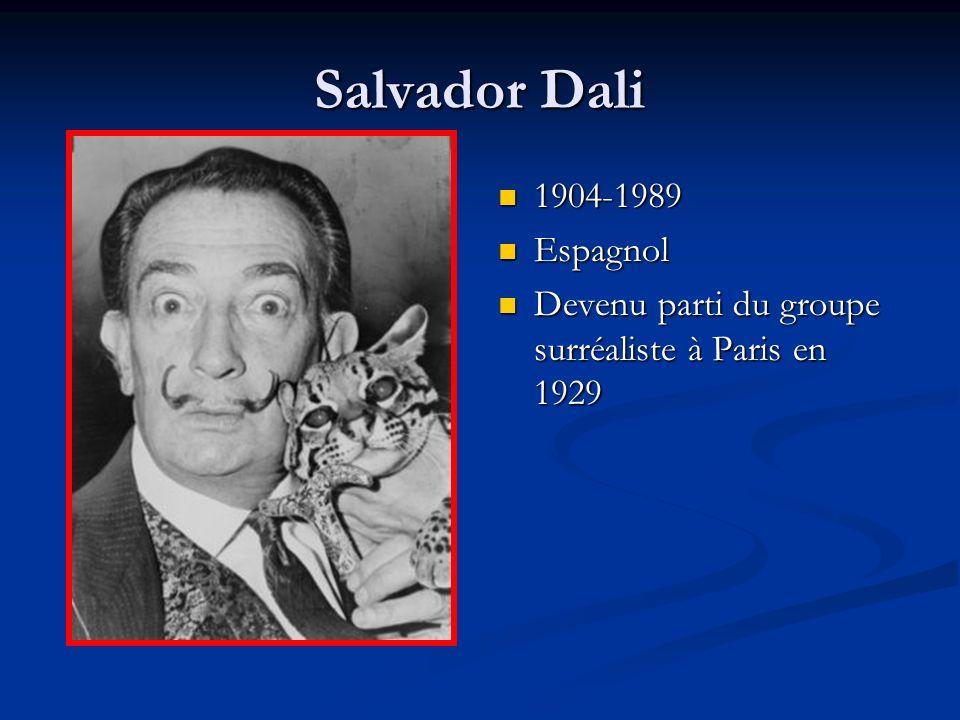 Salvador Dali 1904-1989 Espagnol