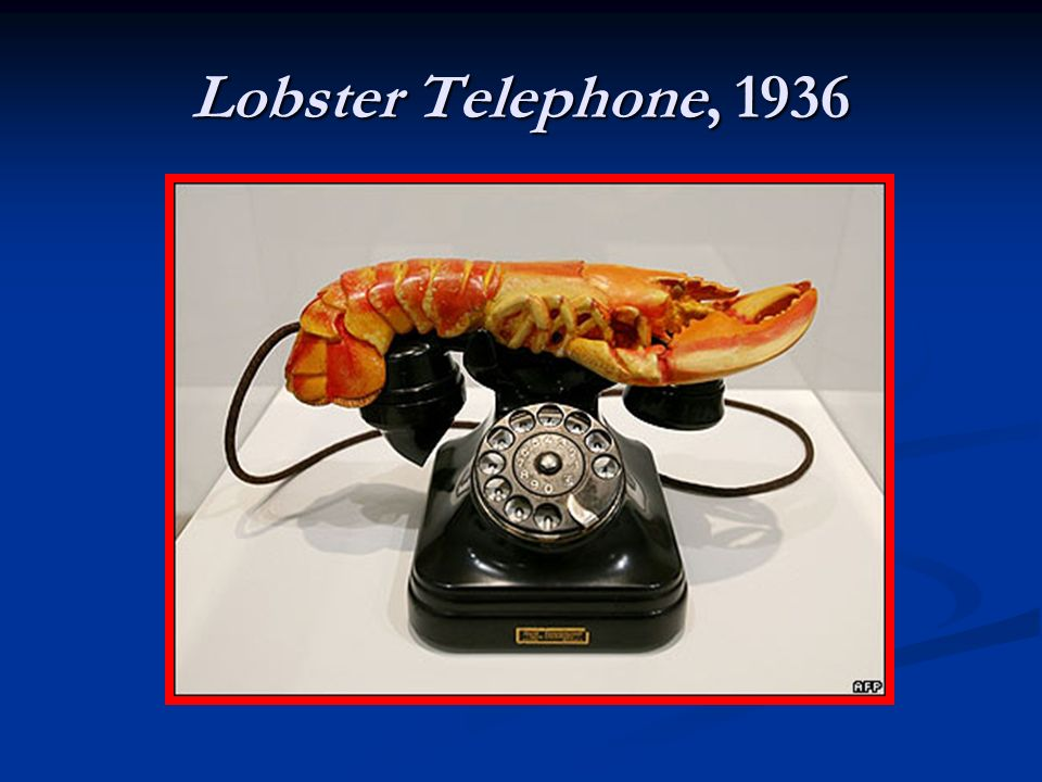Lobster Telephone, 1936