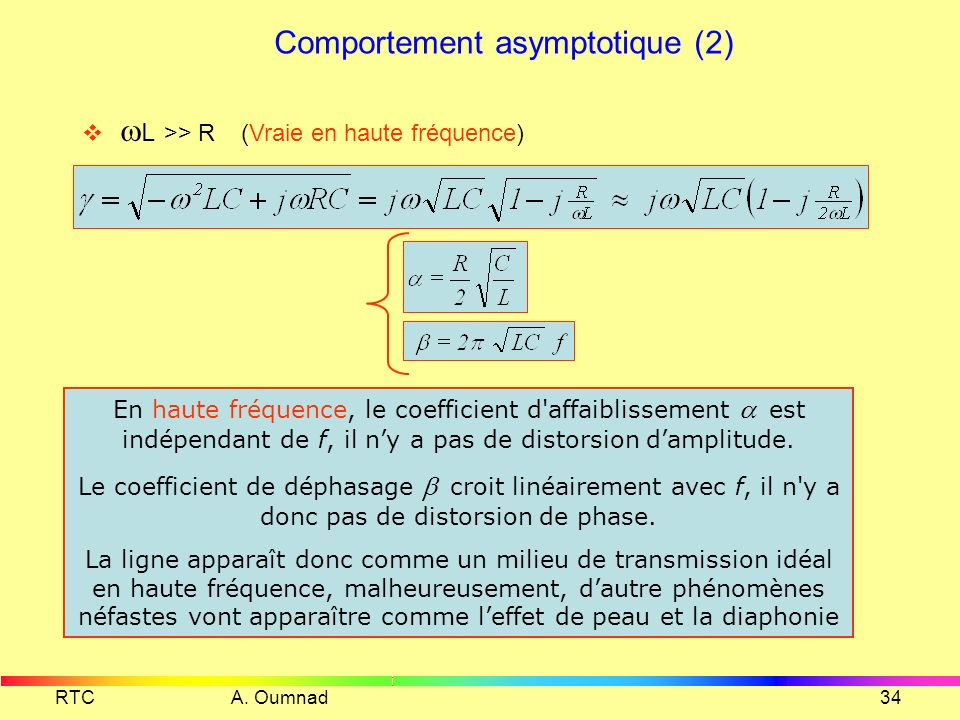 Comportement asymptotique (2)