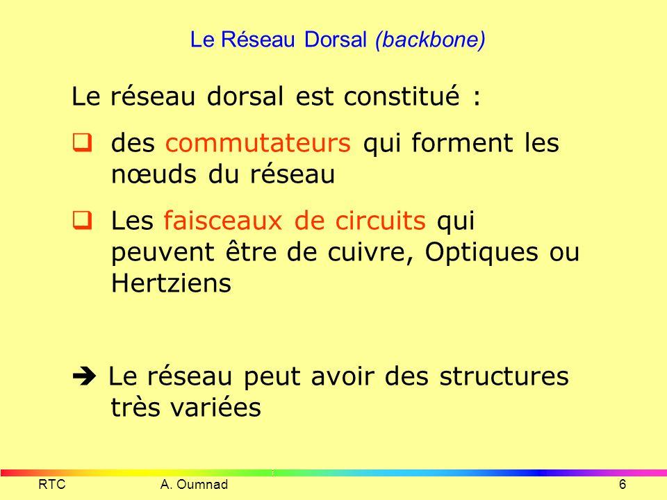 Le Réseau Dorsal (backbone)
