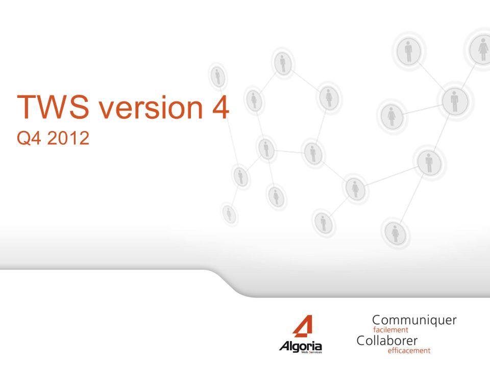 TWS version 4 Q4 2012