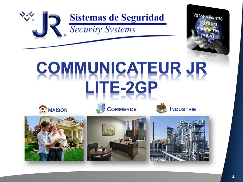 Communicateur JR lite-2gp