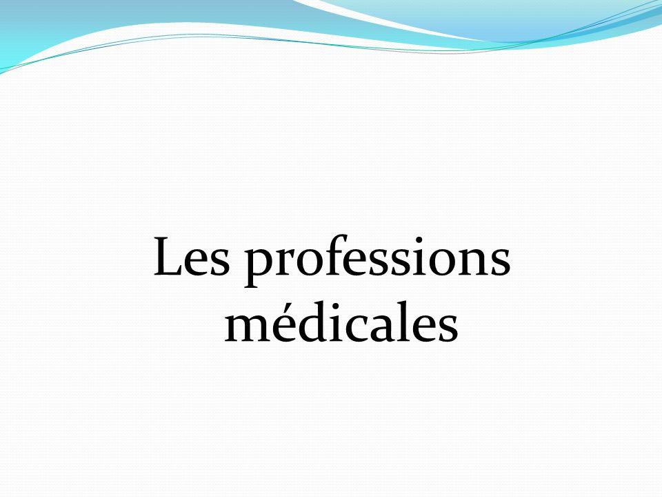 Les professions médicales