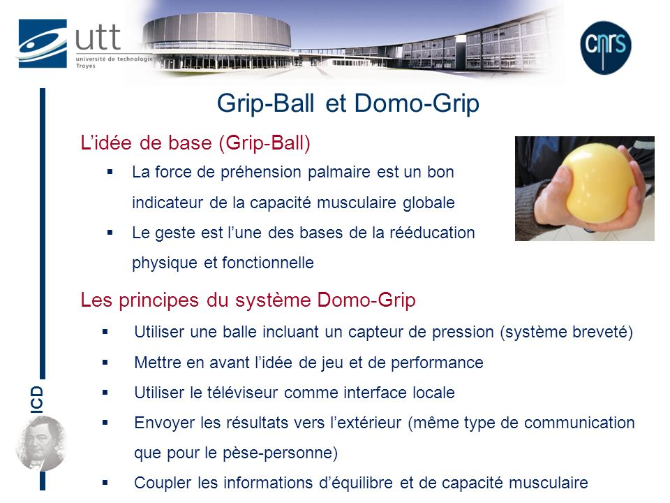 Grip-Ball et Domo-Grip