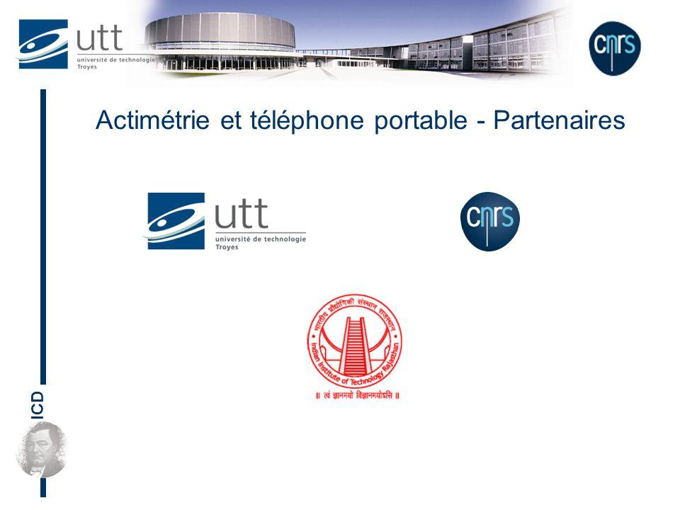 Actimétrie et téléphone portable - Partenaires