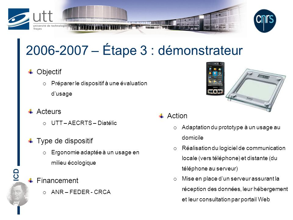 2006-2007 – Étape 3 : démonstrateur