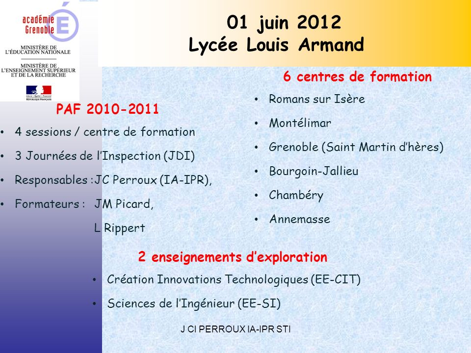 2 enseignements d'exploration