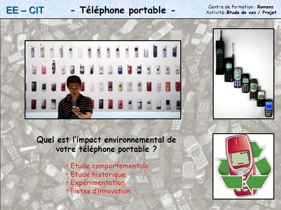 Quel est l'impact environnemental de votre téléphone portable