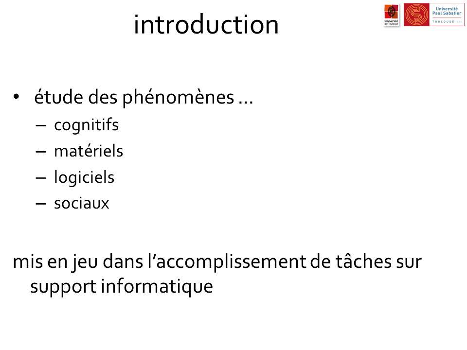 introduction étude des phénomènes ...
