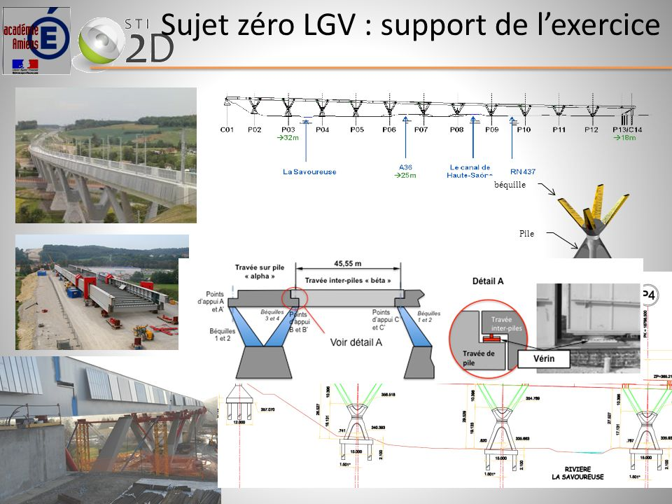 Sujet zéro LGV : support de l'exercice