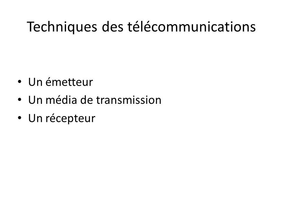 Techniques des télécommunications