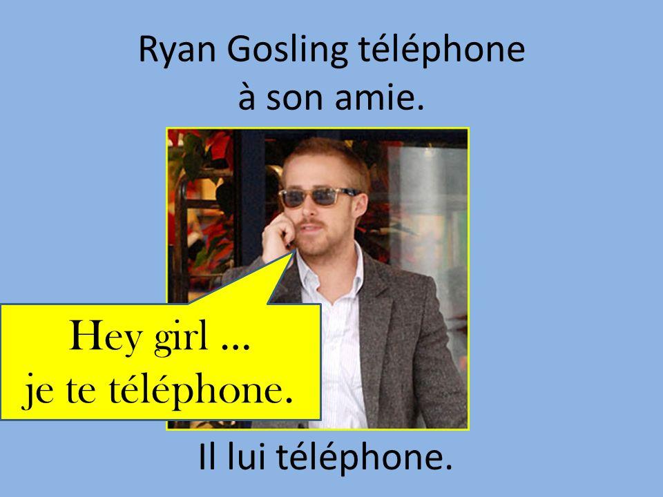 Ryan Gosling téléphone