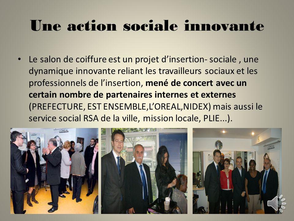 Une action sociale innovante