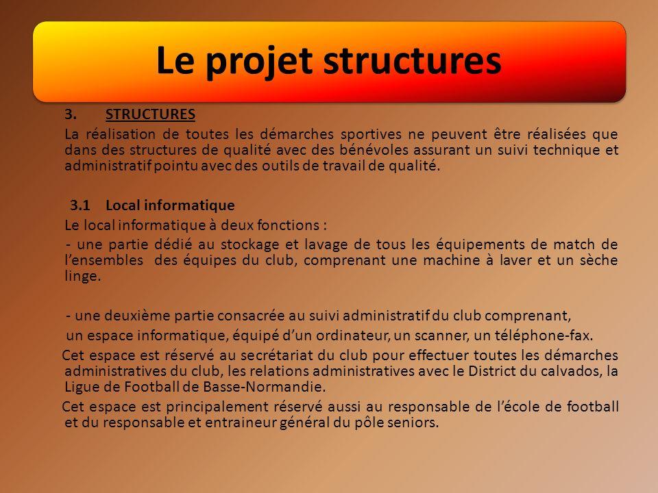 Le projet structures 3. STRUCTURES.