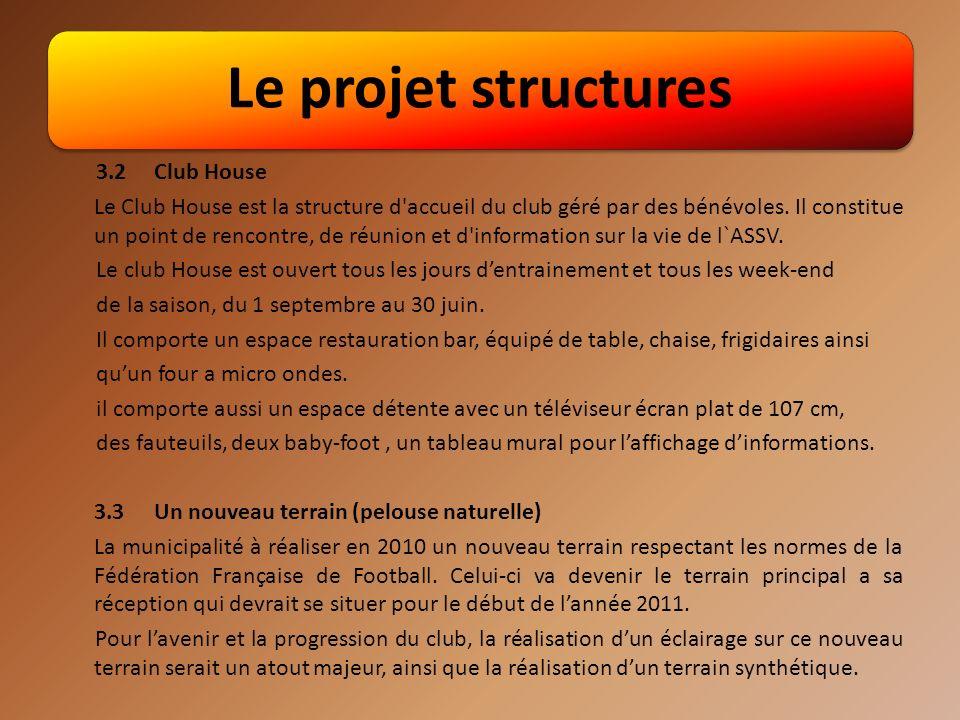 Le projet structures