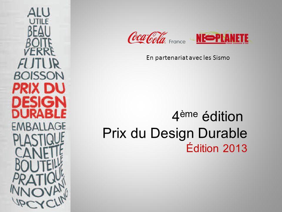 4ème édition Prix du Design Durable Édition 2013
