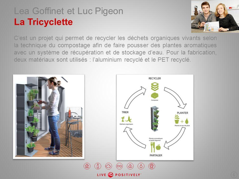 Lea Goffinet et Luc Pigeon La Tricyclette