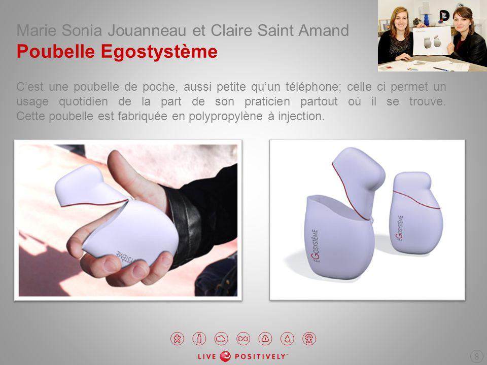 Marie Sonia Jouanneau et Claire Saint Amand Poubelle Egostystème