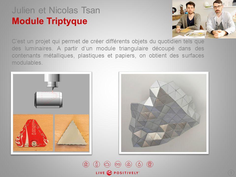 Julien et Nicolas Tsan Module Triptyque