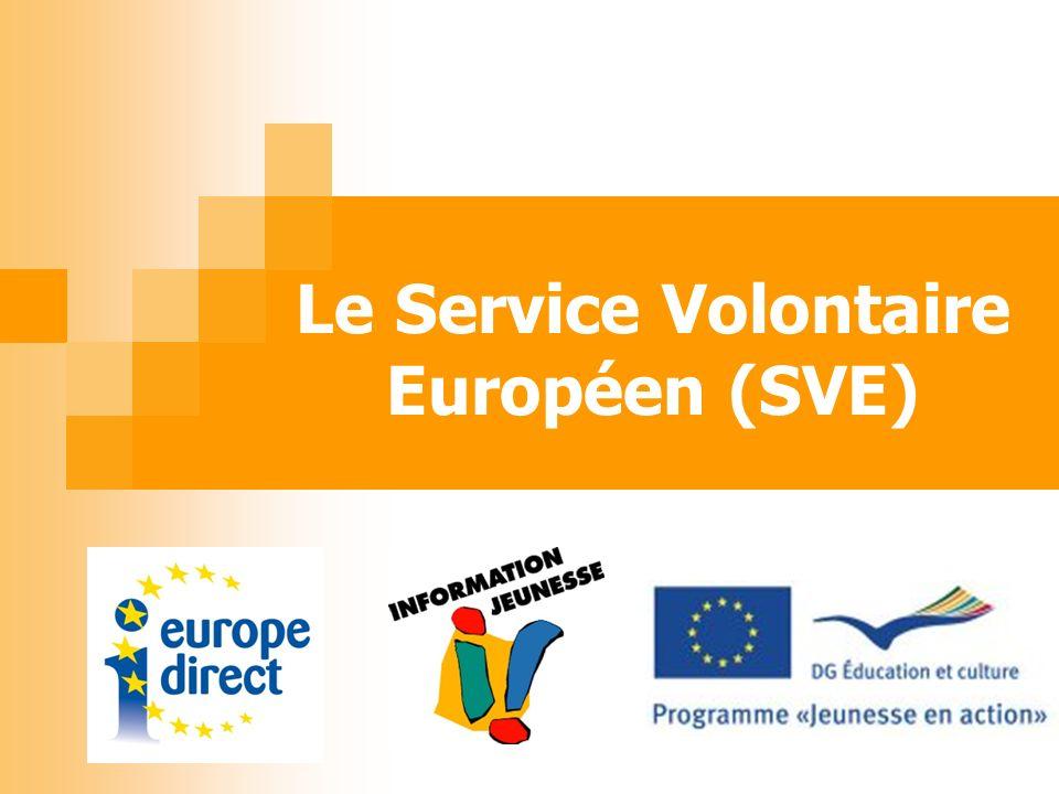 Le Service Volontaire Européen (SVE)