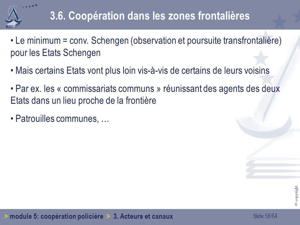 3.6. Coopération dans les zones frontalières