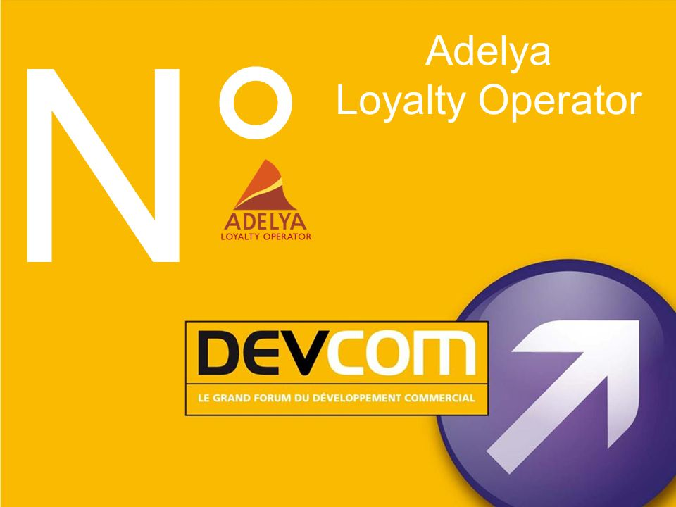 N° Adelya Loyalty Operator 1