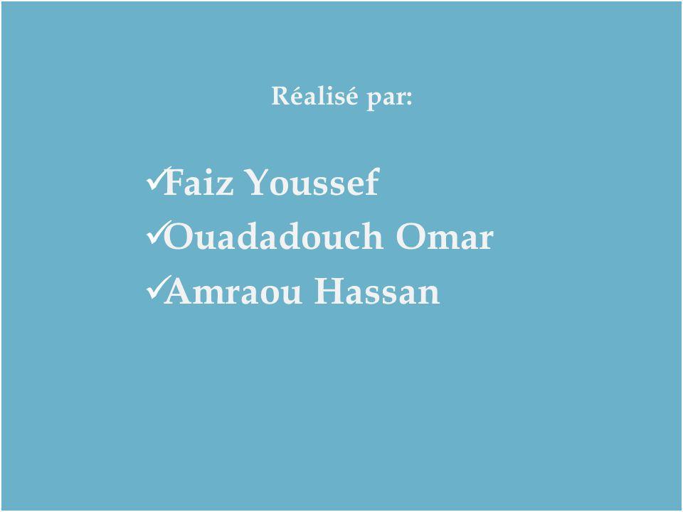 Réalisé par: Faiz Youssef Ouadadouch Omar Amraou Hassan