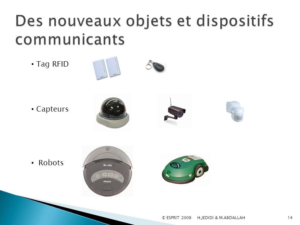 Des nouveaux objets et dispositifs communicants