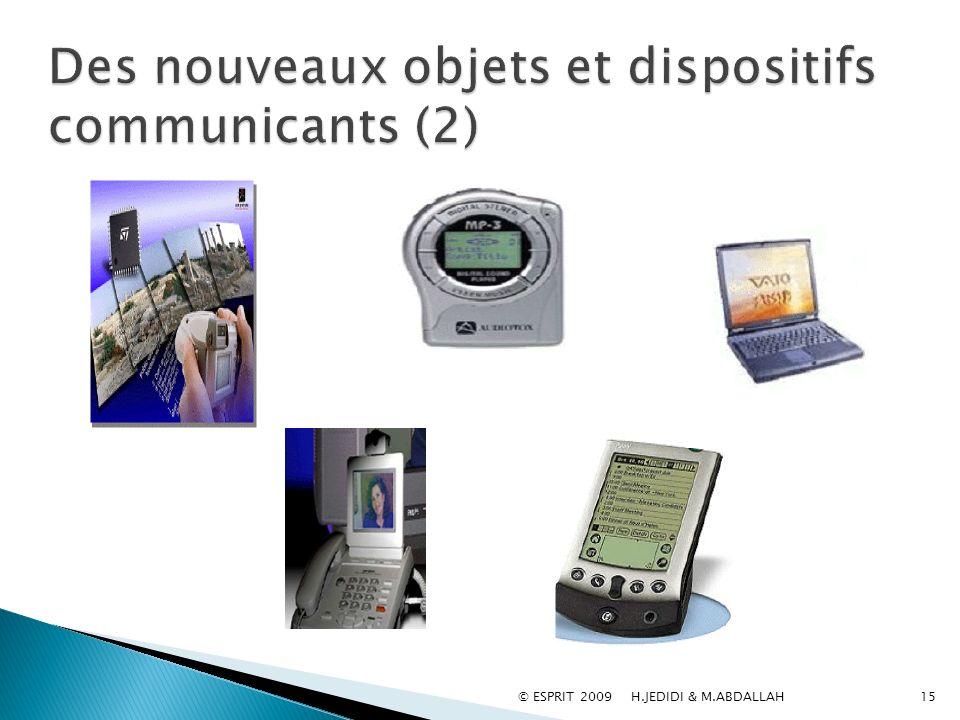 Des nouveaux objets et dispositifs communicants (2)