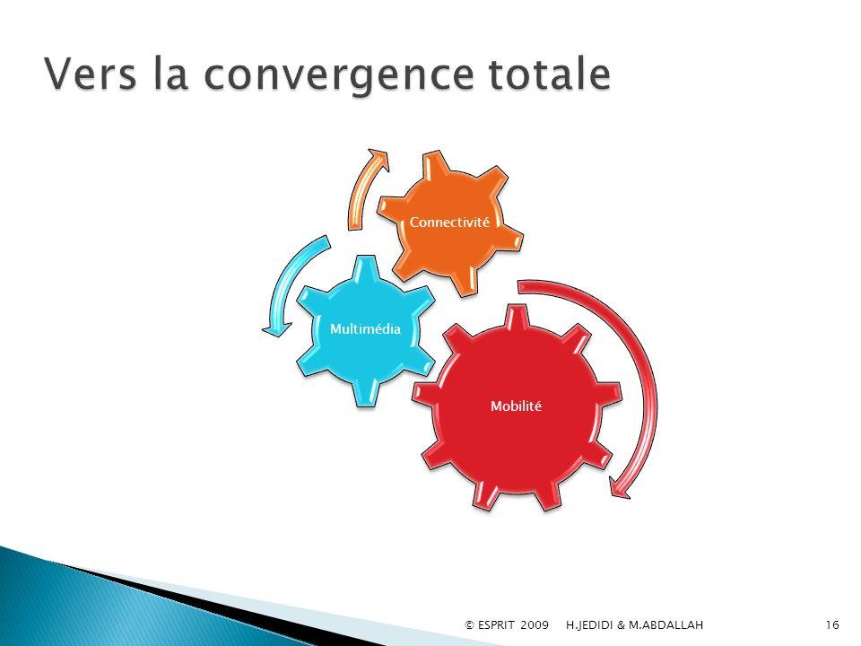 Vers la convergence totale