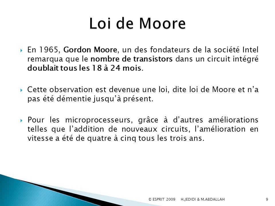 Loi de Moore
