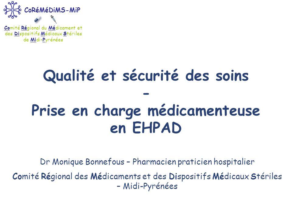 Dr Monique Bonnefous – Pharmacien praticien hospitalier