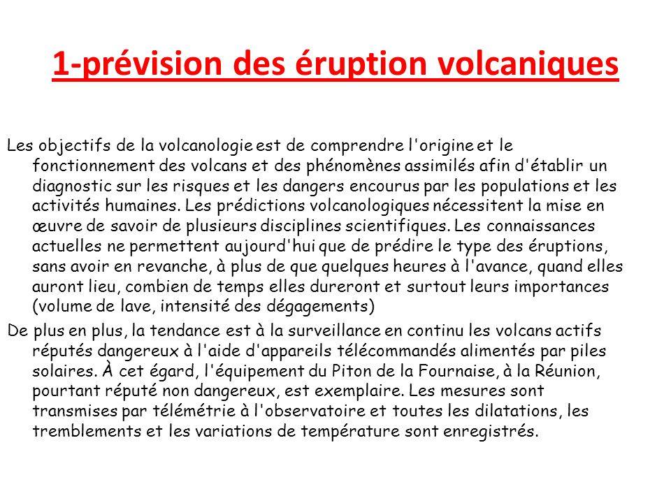 1-prévision des éruption volcaniques