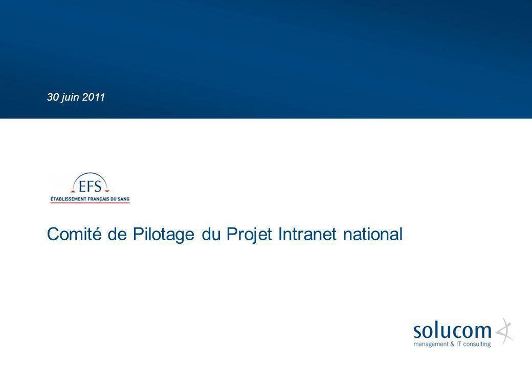 Comité de Pilotage du Projet Intranet national
