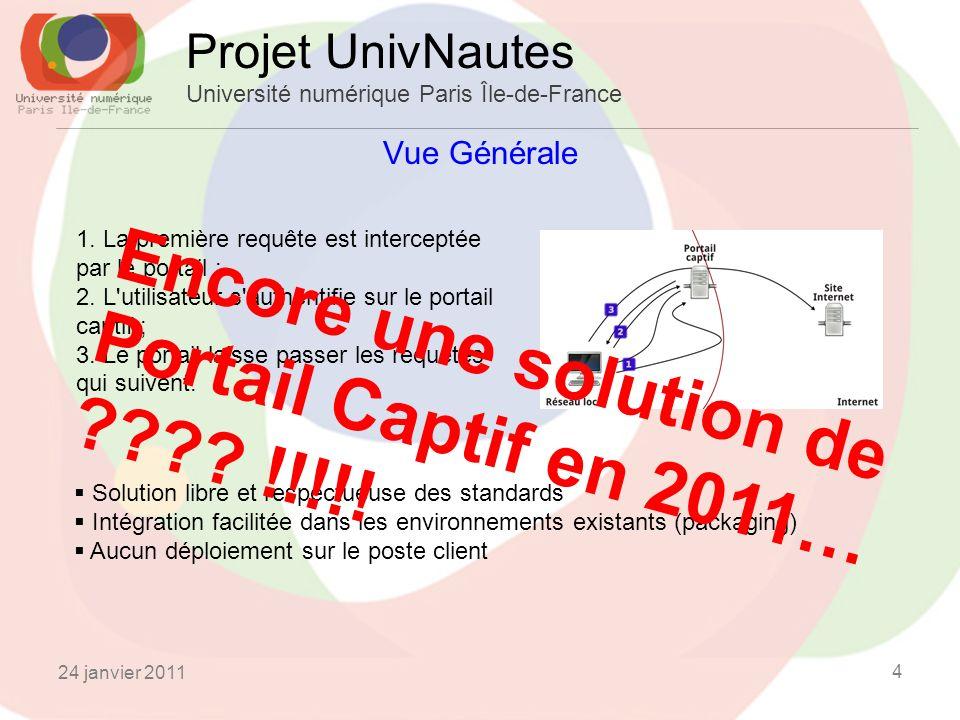 Encore une solution de Portail Captif en 2011… !!!!!