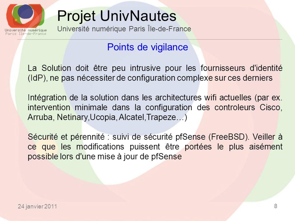 Projet UnivNautes Université numérique Paris Île-de-France