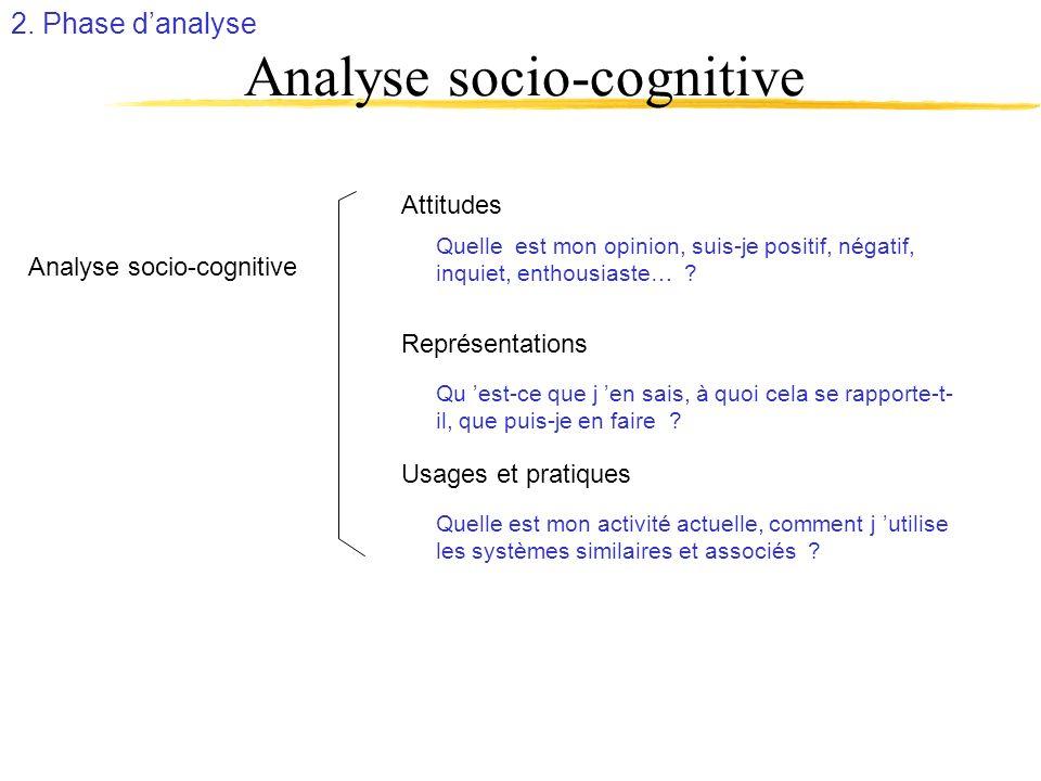 Analyse socio-cognitive