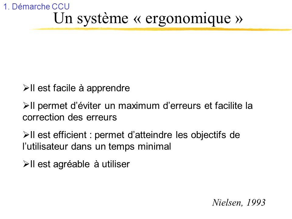 Un système « ergonomique »