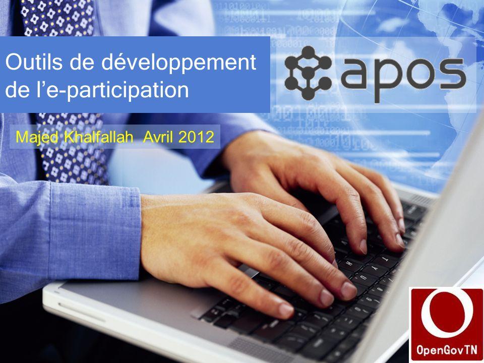 Outils de développement de l'e-participation