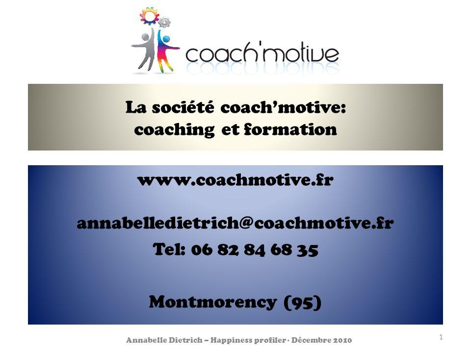 La société coach'motive: coaching et formation
