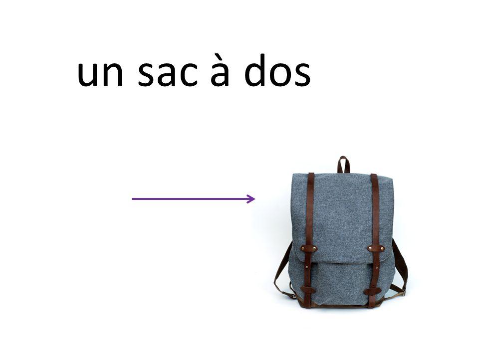 un sac à dos