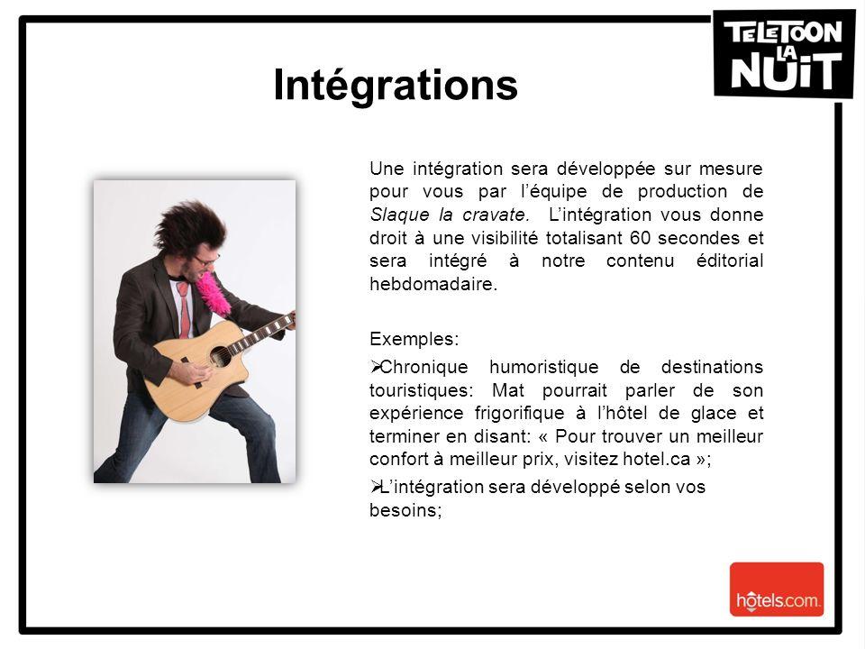 Intégrations