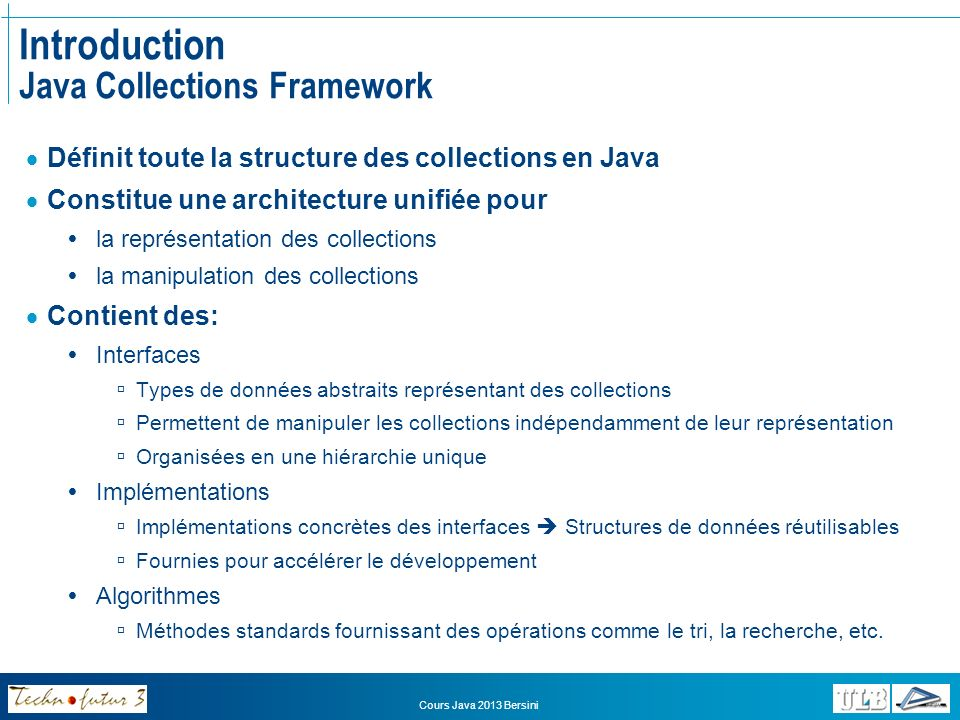 Introduction Java Collections Framework