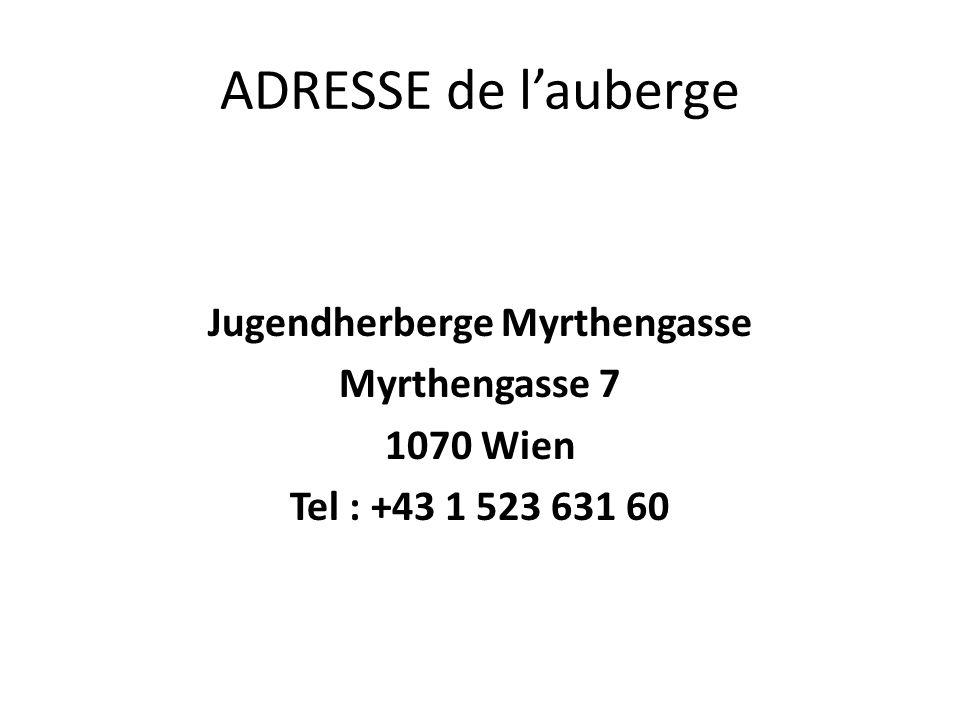 Jugendherberge Myrthengasse