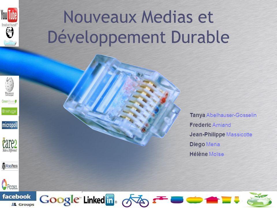 Nouveaux Medias et Développement Durable